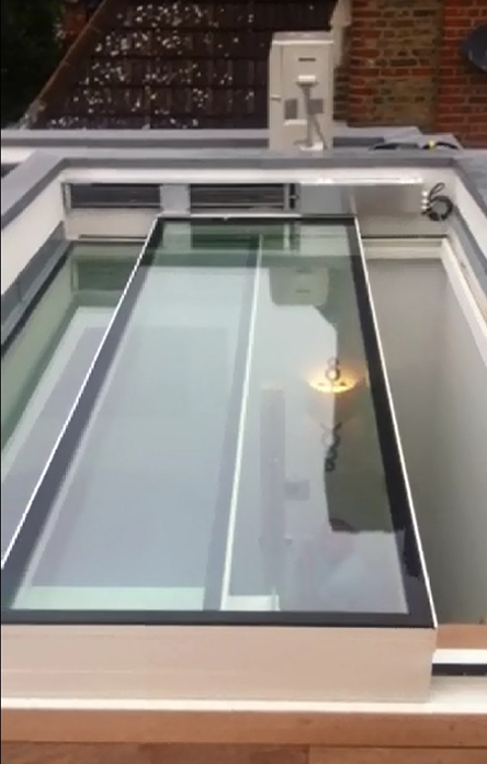 Glassmotion Gm Hr Automatic Sliding Glass Roofs And