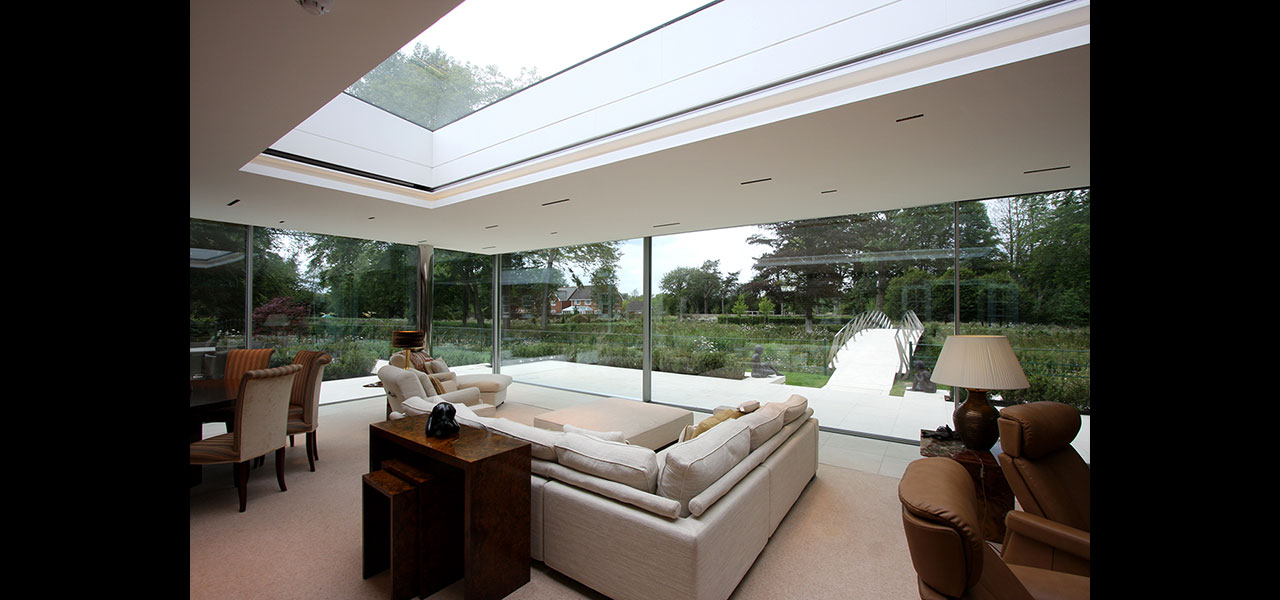 Shenfield Mill Contemporary Rear Extension Floating Roof
