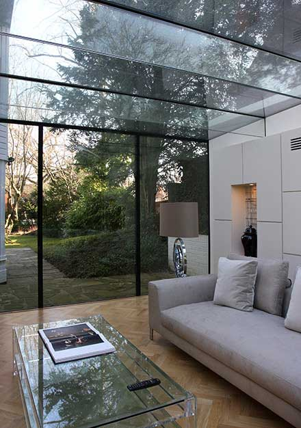 Glass Extensions Contemporary Frameless Conservatories