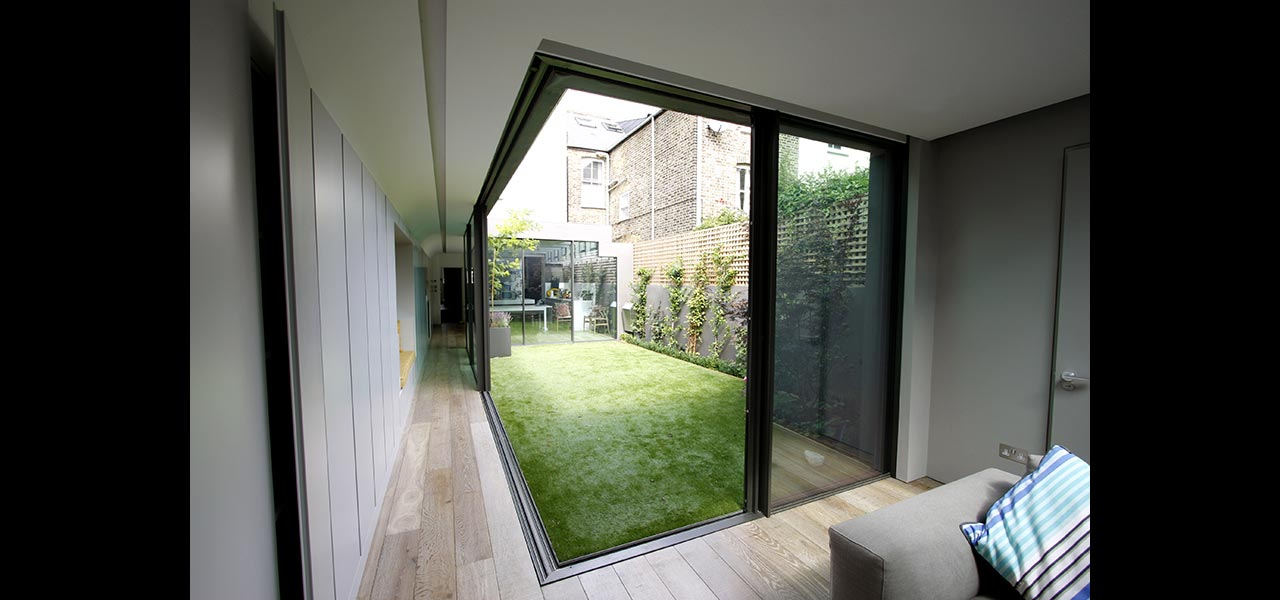 Garden Room House Minimal Sliding Door System Iq Glass