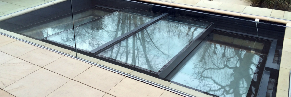 Auto Sliding Rooflights Products Iq Glass