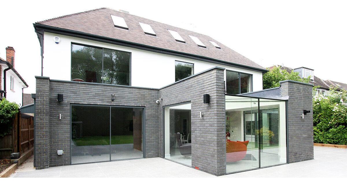 Kewferry Drive Architectural Glazing Projects Iq Glass