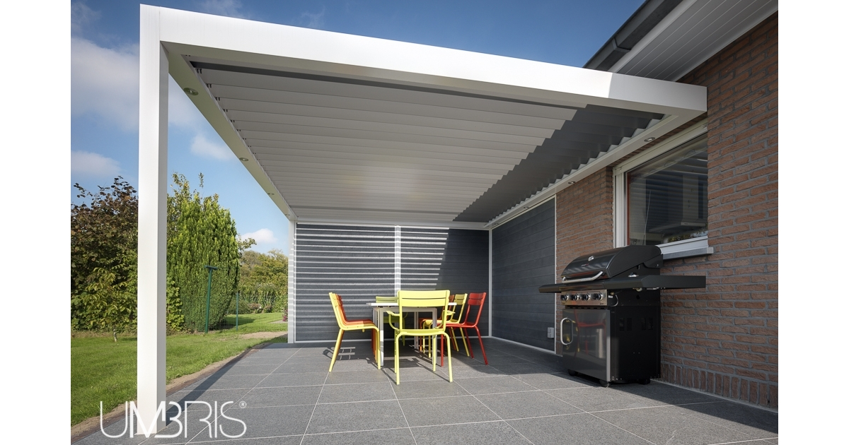 Umbris Louvre Roofs For Gardens And Patios Featured