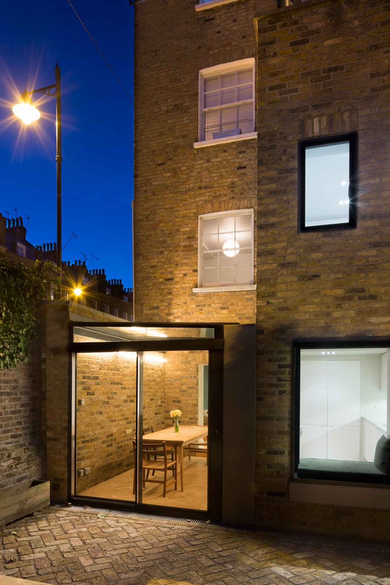 Claremont Square Structural Glass Roof Doors Projects