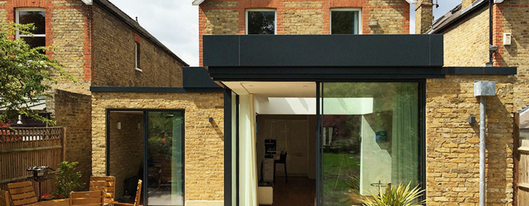 Richmond Park Floating Roof Extension Projects Iq Glass