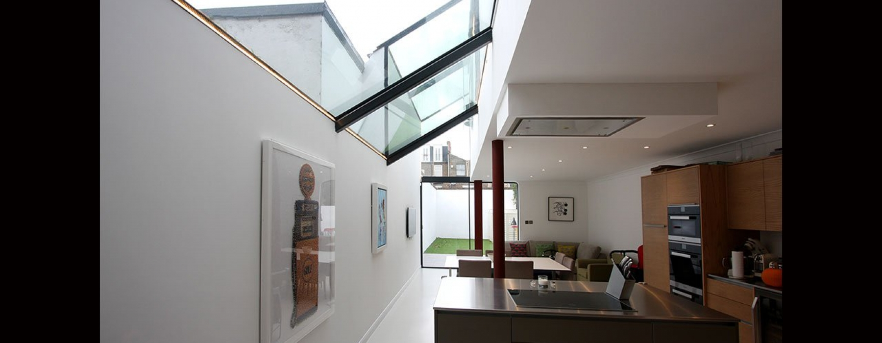 Chaldon Road Side Infill Extension Projects Iq Glass