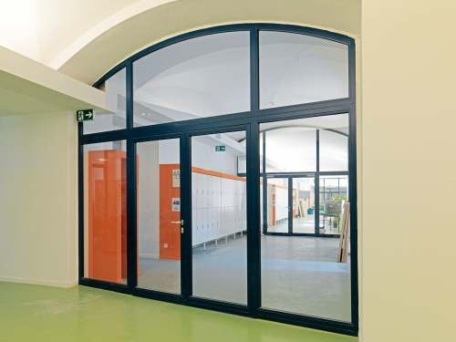 Steel Framed Fire Rated Doors Products Iq Glass