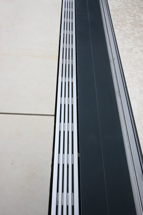Flush Threshold Drain For Doors Products Iq Glass