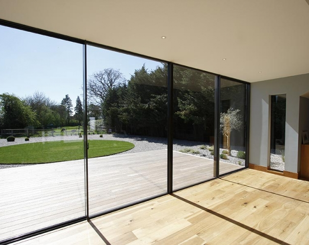 Fairstead Minimal Framed Glazing Projects Iq Glass