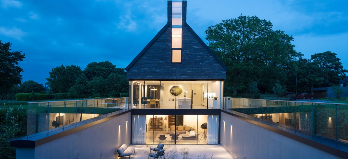 Water End House Stunning Structural Glazing
