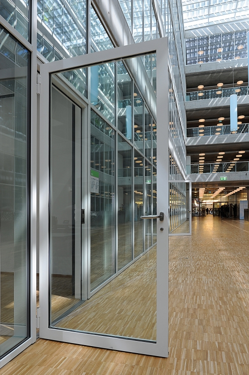 Steel framed fire rated doors products iq glass - Commercial steel exterior doors with glass ...
