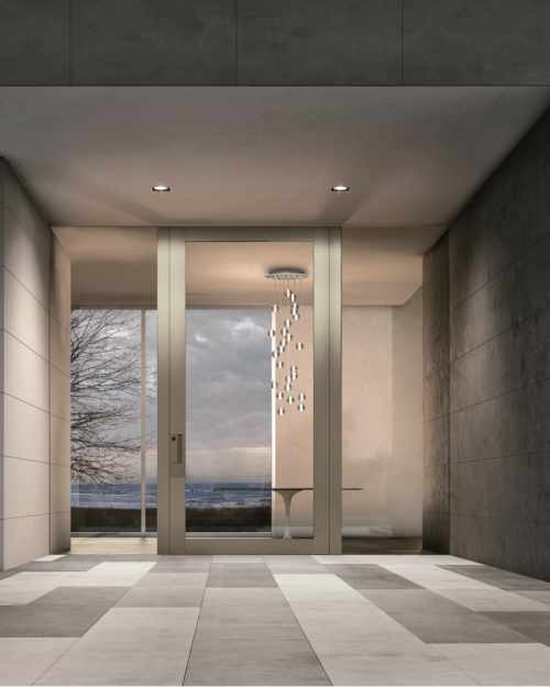 Apertio Glass From Ingresso By IQ Glass. ASK US ABOUT OUR Apertio Glass  Entrance Door