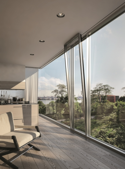 Glass Facades With Concealed Vents Products Iq Glass