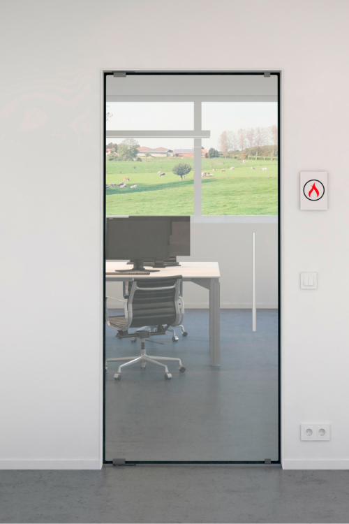 Frameless Fire Rated Doors Products IQ Glass