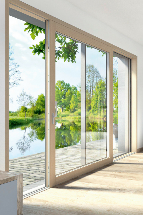 Passivhaus lift and slide doors products iq glass for Porte lift and slide
