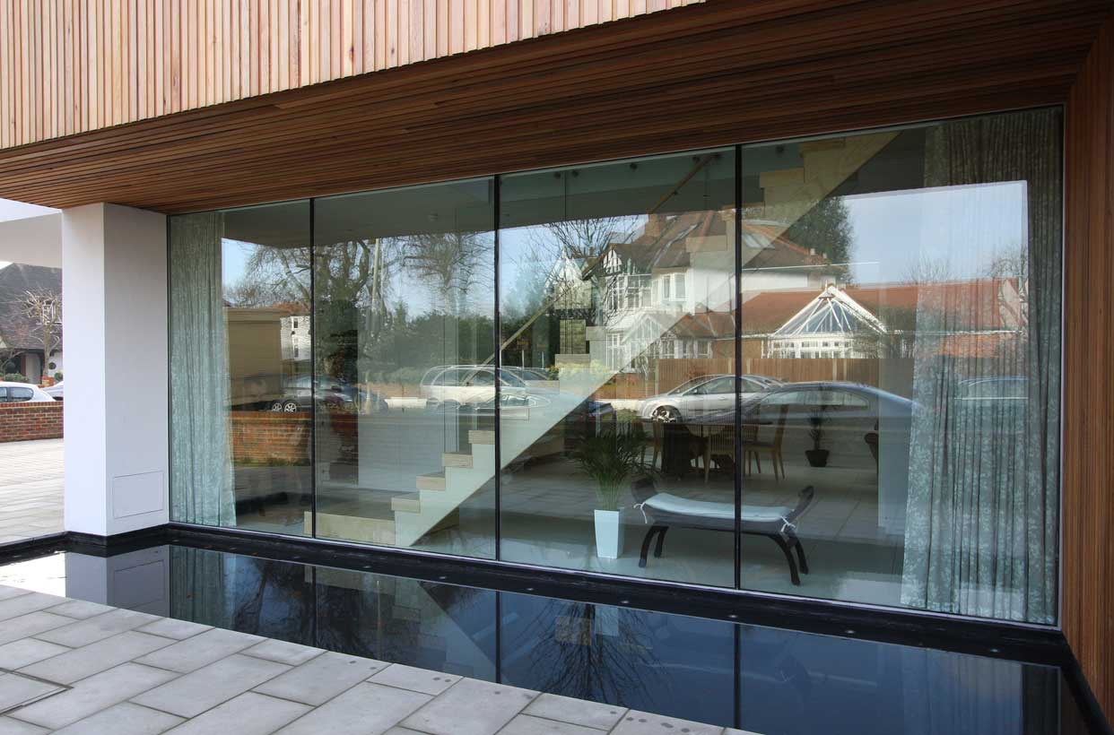 Structural Silicone Joint : Park road structural glazing iq glass